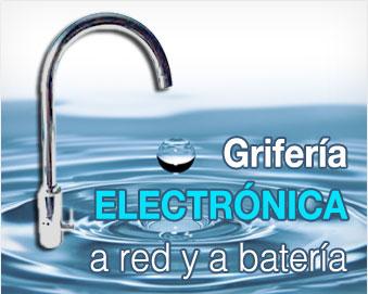 Saniber grifer a temporizada sl somos fabricantes for Griferia electronica
